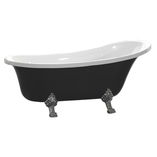 Redondo 63 x 28 Soaking Bathtub by MTD Vanities