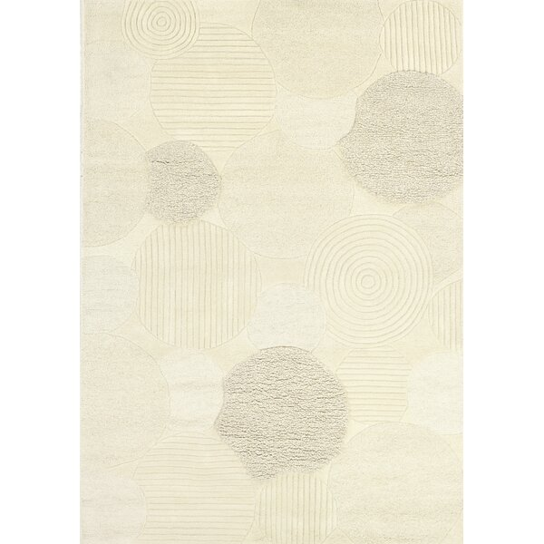 Alessandro Hand-Woven Natural Area Rug by Latitude Run