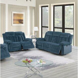 Lauri 2 Piece Reclining Living Room Set by Red Barrel Studio®