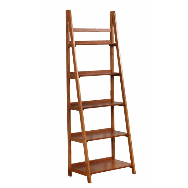 Tremaine Wooden Ladder Bookcase By Canora Grey