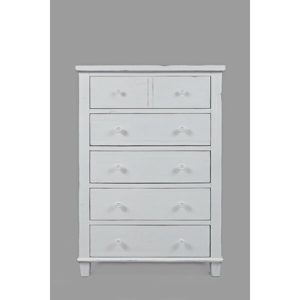 Ginns 5 Drawer Chest by August Grove
