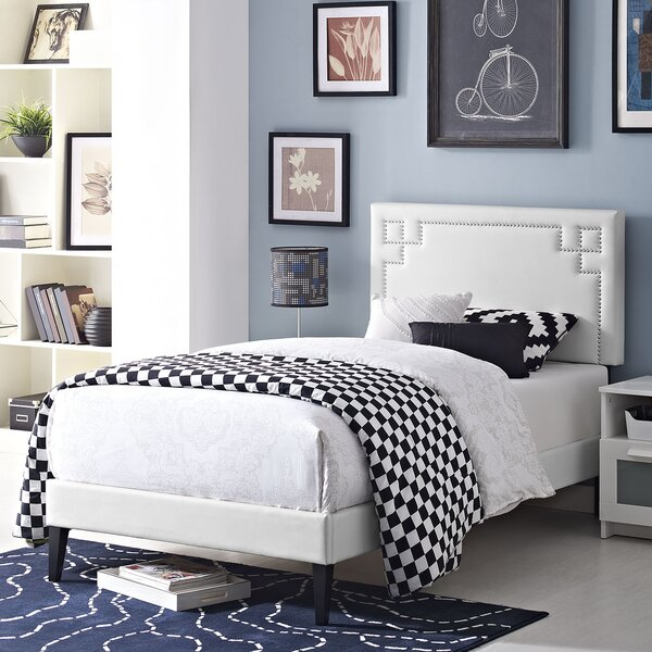 Kerley Twin Upholstered Platform Bed By Everly Quinn by Everly Quinn Purchase