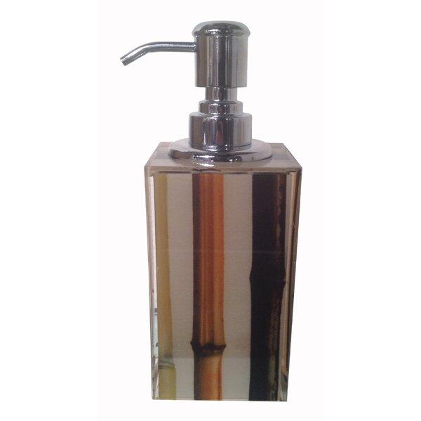 Bamboo Soap Dispenser by Oggetti