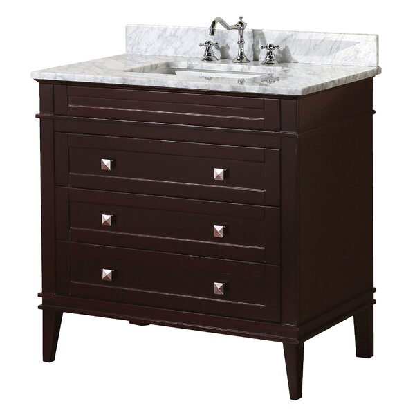 Eleanor 36 Single Bathroom Vanity Set by Kitchen Bath Collection