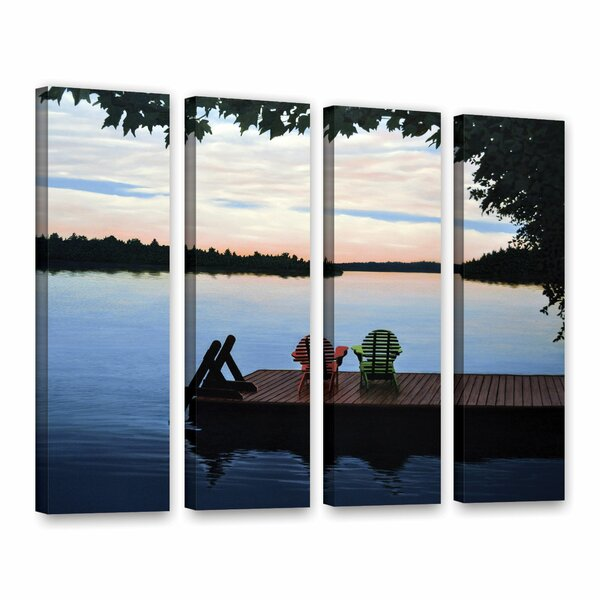 Tranquility by Ken Kirsh 4 Piece Photographic Print on Wrapped Canvas Set by ArtWall