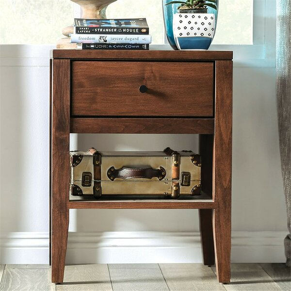 Bussell 1 Drawer Nightstand by Foundry Select