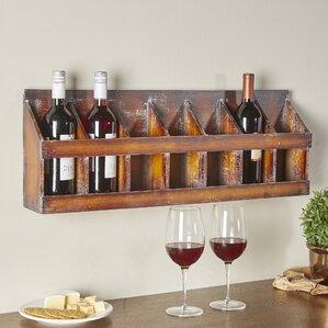 Sonoma 7 Bottle Wall Mounted Wine Rack by Birch Lane™