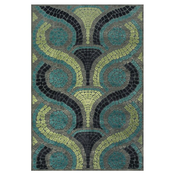 Colin Blue/Yellow Area Rug by Latitude Run