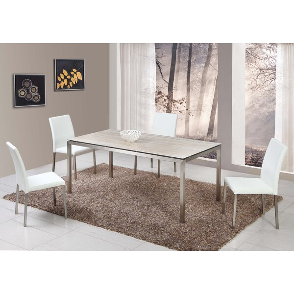 Lynnsy 5 Piece Dining Set by Orren Ellis