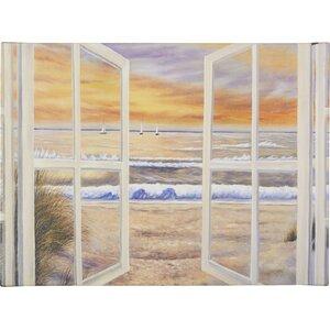 Elongated Window' on Canvas by Trademark Fine Art