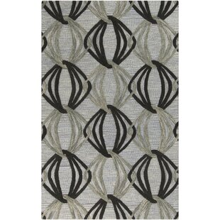 Shop for Dream Hand-Tufted Black/Gray Area Rug By Surya