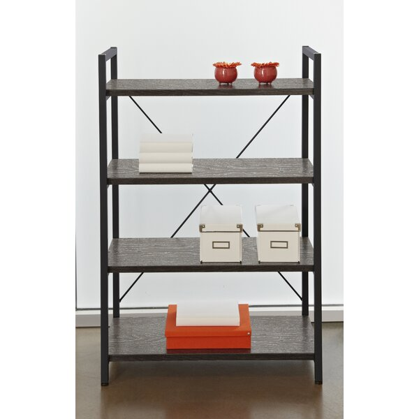 Mathieson 4 Shelf Standard Bookcase by Gracie Oaks