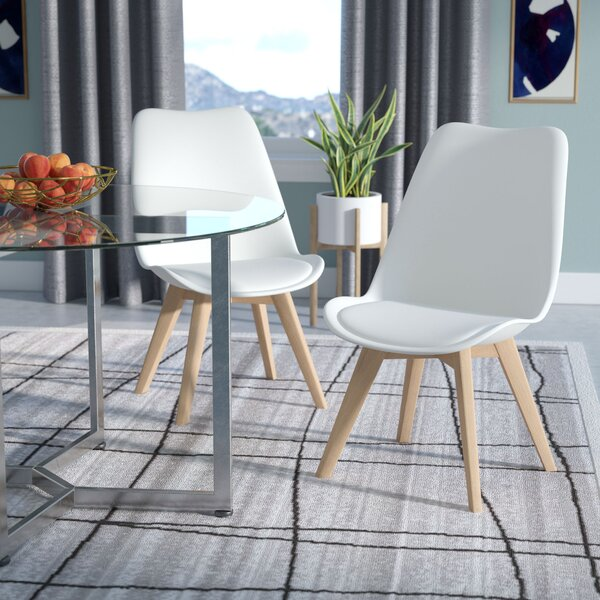 Dakota Upholstered Dining Chair (Set of 2) by Wade Logan