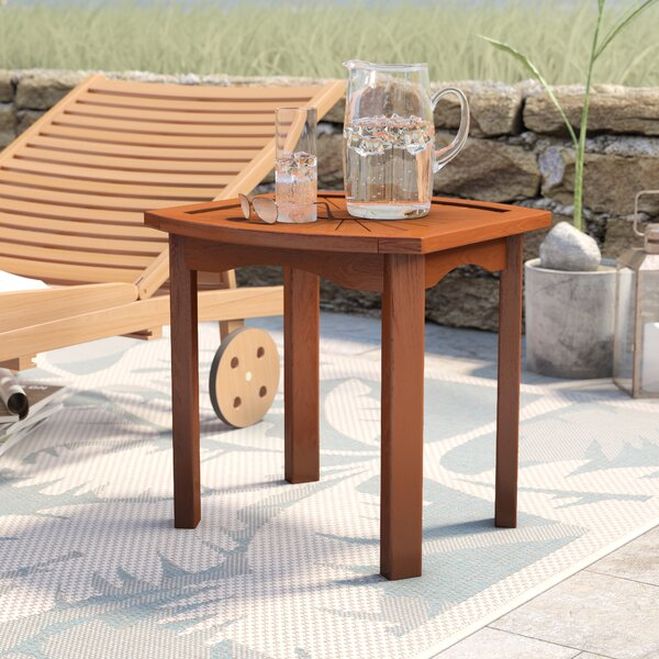 Pine Hills Side Table by Beachcrest Home
