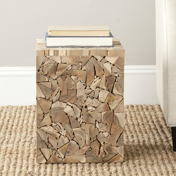 Holdenville Accent Stool by Loon Peak