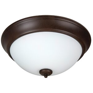 Byron 2-Light Flush Mount