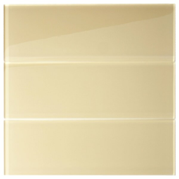 Earth 4 x 12 Glass Mosaic Tile in Khaki by CNK Tile