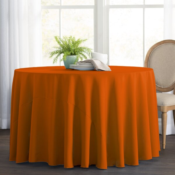 Wayfair Basics Polyester Round Tablecloth by Wayfair Basics™