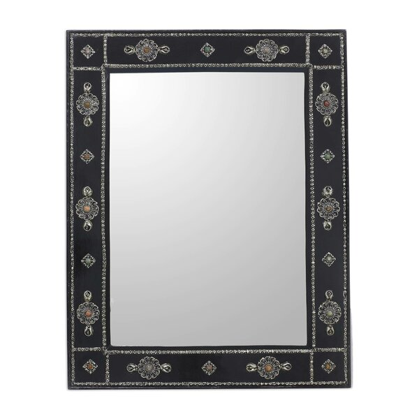 Khalid Ali Plated Accent Mirror by Novica