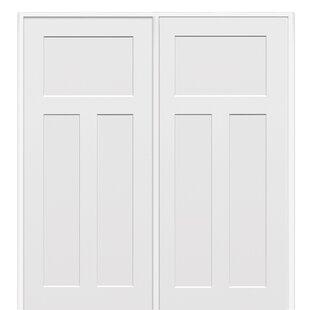 Craftsman MDF 3 Panel Prehung Interior Door
