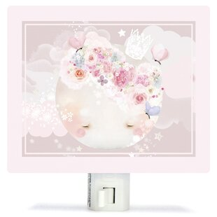 Shop For Sleepy Moon by Schmooks Canvas Night Light By Oopsy Daisy