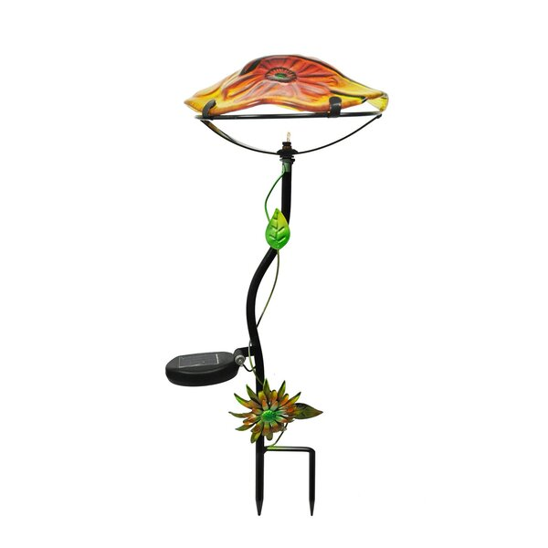 Mushroom Solar Garden Stake by Continental Art Center