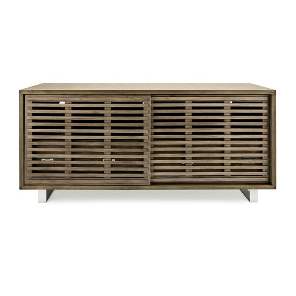 Review Bolivar Paulownia Wood Console Table