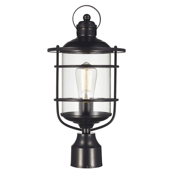 Gerome 1-Light Lantern Head by Breakwater Bay