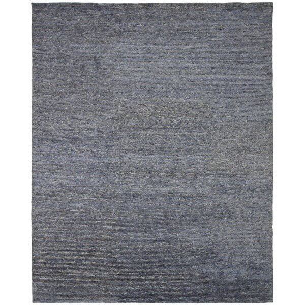 Vogue Hand-Knotted Blue Area Rug
