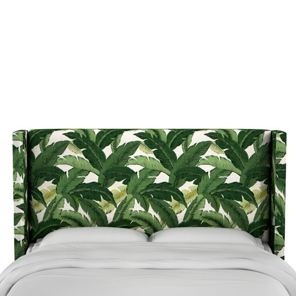 Garrett Upholstered Wingback Headboard by Bay Isle Home