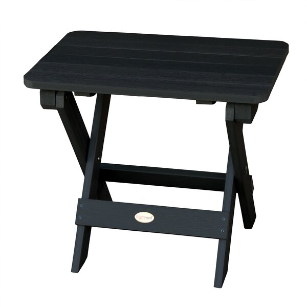 Phat Tommy Folding Wooden Side Table by Buyers Choice