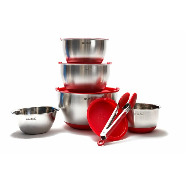 6 Piece Stainless Steel Mixing Bowl Set by Ashco Management Inc