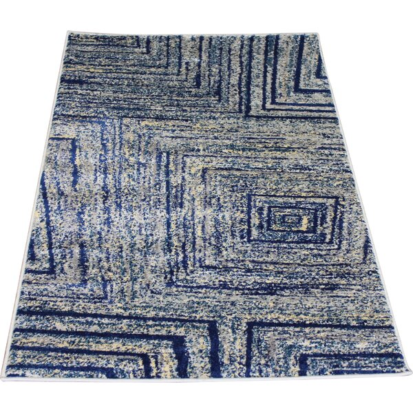 Fusion Yellow/Silver Indoor/Outdoor Area Rug by Rug Factory Plus