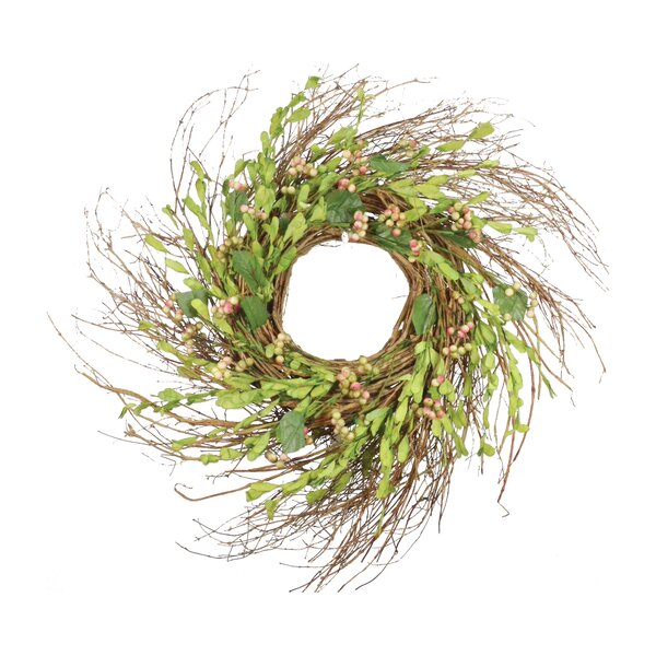 Berries Grapevine Wreath by August Grove