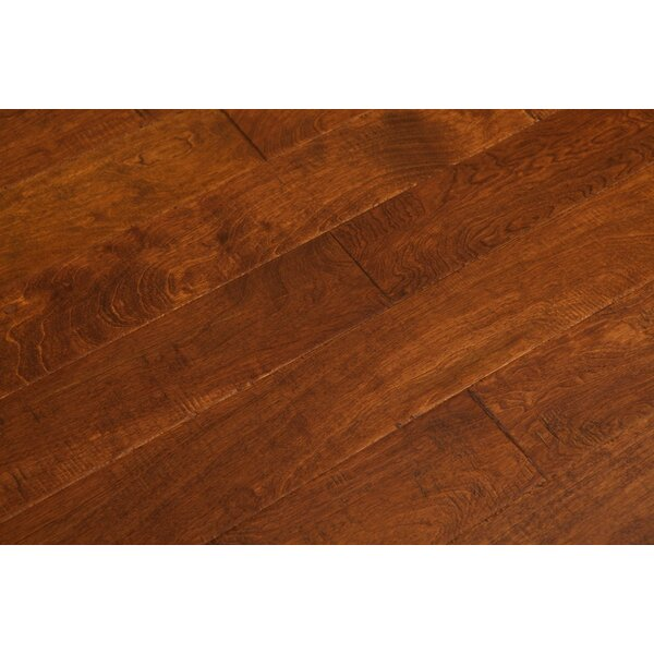 Zellmer 5 Engineered Birch Hardwood Flooring in Java Mocha by Charlton Home