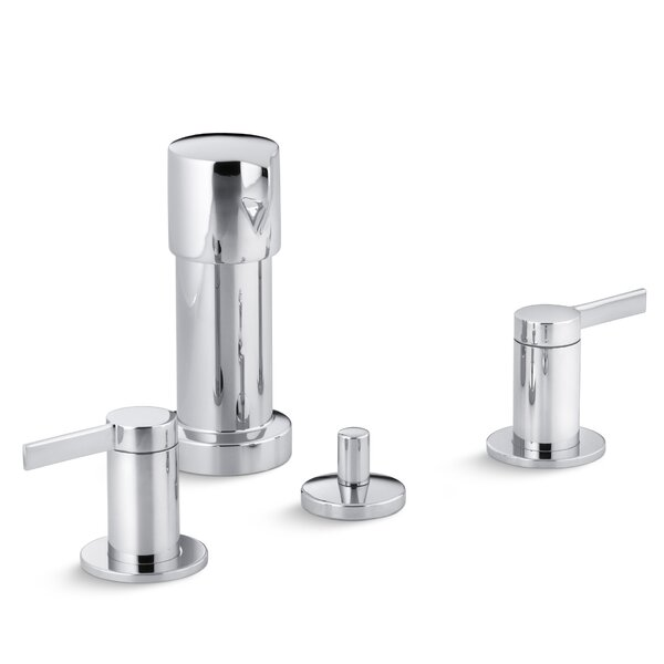 Stillness Vertical Spray Bidet Faucet with Lever Handles by Kohler