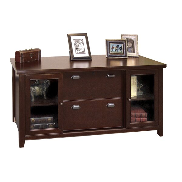 Tribeca Loft - Cherry 2 Door Accent Cabinet by Martin Home Furnishings