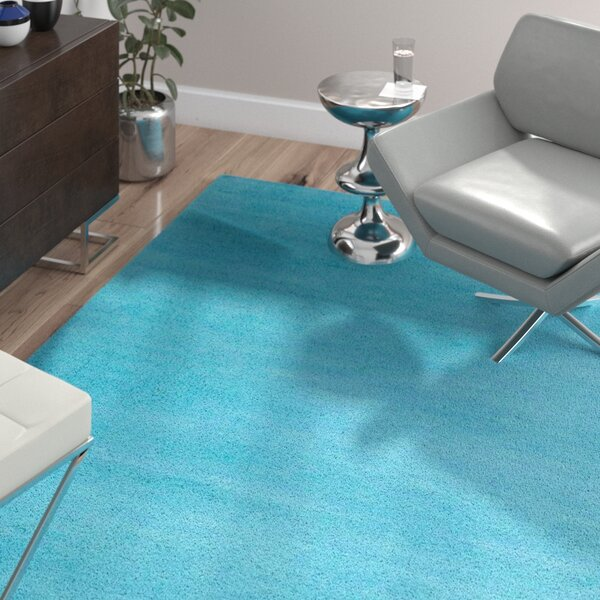 Bargo Turquoise Area Rug by Wade Logan