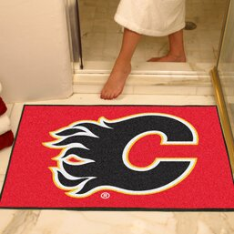 NHL - Calgary Flames Doormat by FANMATS