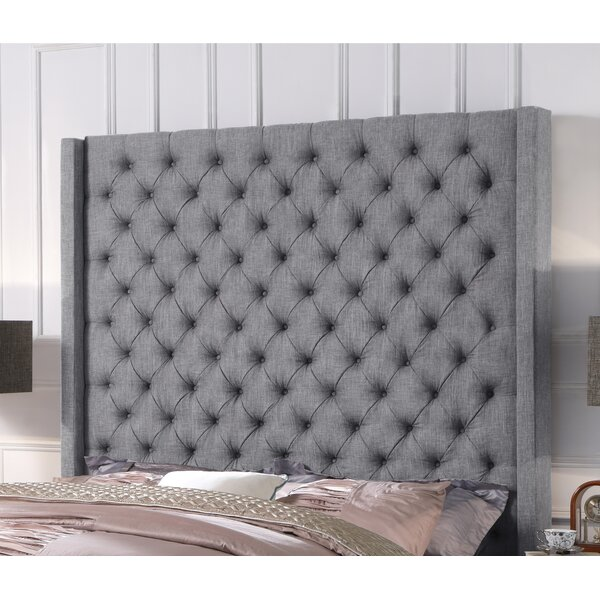 Antonio Upholstered Wingback Headboard by iNSTANT HOME