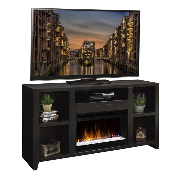 Review Garretson Solid Wood TV Stand For TVs Up To 70