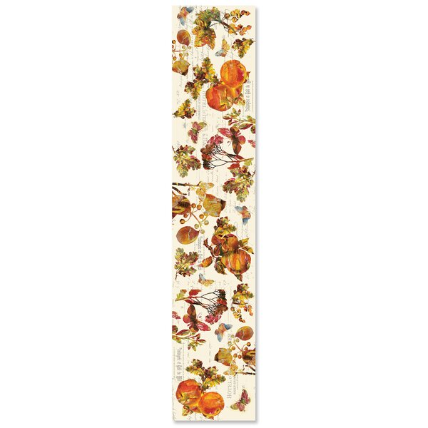 Antocci Antique Autumn Table Runner by August Grove
