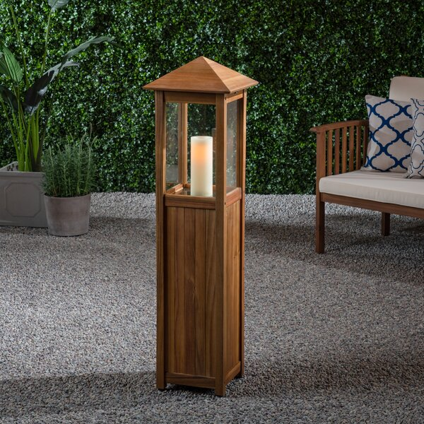 Wood Lantern by Loon Peak