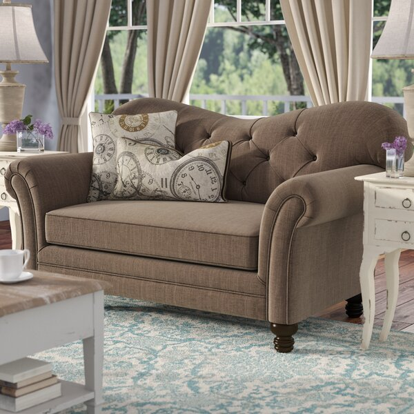 Hot Price Remmie Loveseat by Ophelia & Co. by Ophelia & Co.