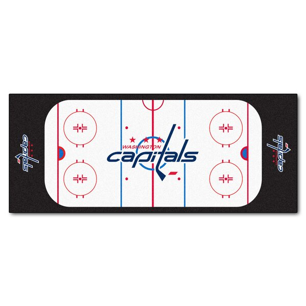 NHL - Washington Capitals Rink Runner Doormat by FANMATS