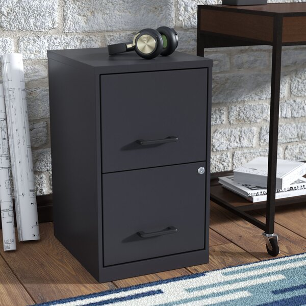 Worton 2 Drawer Vertical Filing Cabinet by Wrought