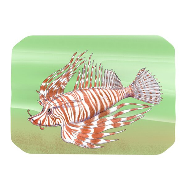 Fish Manchu Placemat by KESS InHouse