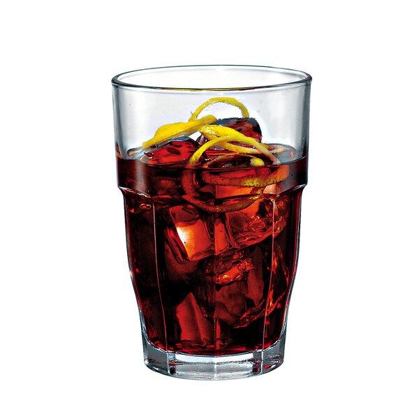 Brunson Long 12.5 oz. Drinking Glass (Set of 6) by Mint Pantry