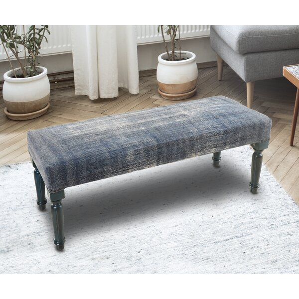 Mund Upholstered Bench by Charlton Home