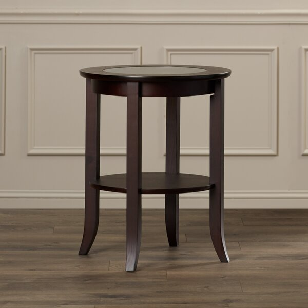 Peckham End Table by Alcott Hill